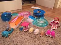 Go Go Hamster play set