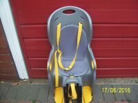 CHILDS BIKE SEAT NEW AND UNUSED