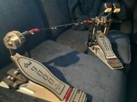 DW 9000 double bass pedals