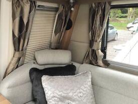 Caravan Curtains 6 Pairs (Fully Lined + Tie Backs)