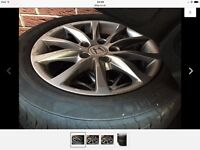 Honda Civic 2012-16 alloy rims with tyres
