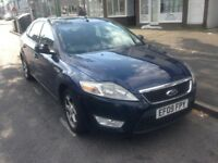 2009 FORD MONDEO 1.6 PETROL 6 SPEED SPARES REPAIR WATER PROB£695
