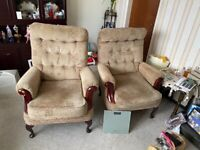 Chairs for lounge sofa available too warmley Birmingham
