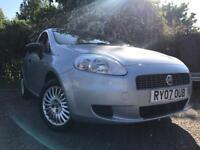 Fiat Punto 1.2 Petrol Only 53k On Clock Year Mot Drives Great Cheap Car !