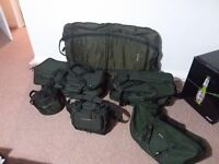 Various carp fishing gear. Rods,reels,bivvy,bedchair etc from £15
