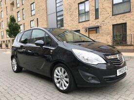 2012 Vauxhall Meriva 1.4 SE ~ 63K Mileage ~ HPI Clear ~ One Year MOT ~ Parking Sensors