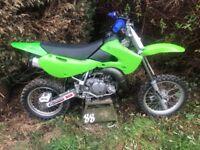 KX65 2009 MOTOCROSS BIKE - KX85 YZ RM CR YZF CRF LT50 LT80 DIRT BIKE