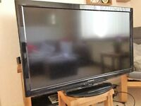 """Panasonic 42"""" HD Freeview TV with free DVD player"""