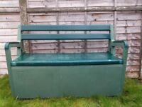 Garden Bench Seat with Storage.