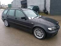 2003 BMW 3 SERIES 320D SE TOURING 5 DOOR ESTATE BLACK