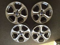 "Ford ST silver Alloys 18"" £350"