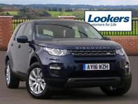 Land Rover Discovery Sport TD4 SE TECH (blue) 2016-03-30