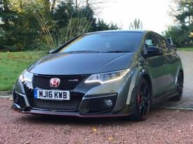 HONDA CIVIC 2.0 I-VTEC TYPE R GT 5d 306 BHP FREE DELIVERY TO Y (grey) 2016
