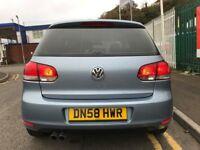 2009 (58 reg) Volkswagen Golf 1.4 TSI SE 3dr 1390cc Petrol 6 Speed Manual Hatchback