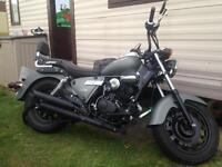 Big 125cc motorbike