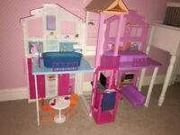 Barbie 3 story townhouse. Immaculate condtion. Hardly played with RRP £99.99.