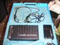 AUDIO TECHNICA WIRELESS HEAD MICROPHONE