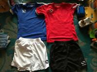 Football outfits age 5-6 yeara