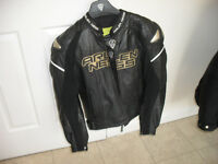 Gents motorcycle leather jacket and trousers - Arlen Ness
