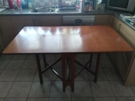 G Plan Teak Dining Table Drop Leaf Gateleg Vintage 70's