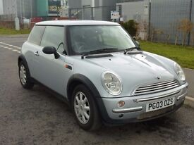 MINI ONE 1.6 automatic hatchback 2003 silver low mileage