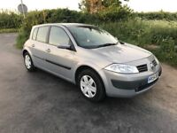 2004 Renault Megane, Service History, long MOT, nice and tidy!