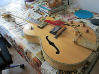Epiphone Joe Pass Korean w. Bigsby, Grover Tuners, Gotoh Bridge, Gibson Pu, VGC