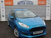 Ford Fiesta ZETEC S (£0.00 ROAD TAX) FREE MOT'S AS LONG AS YOU OWN THE CAR!!!! (blue) 2013