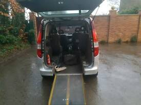 Mercedes-Benz VANEO WHEEL CHAIR DISABILITY VEHICLE