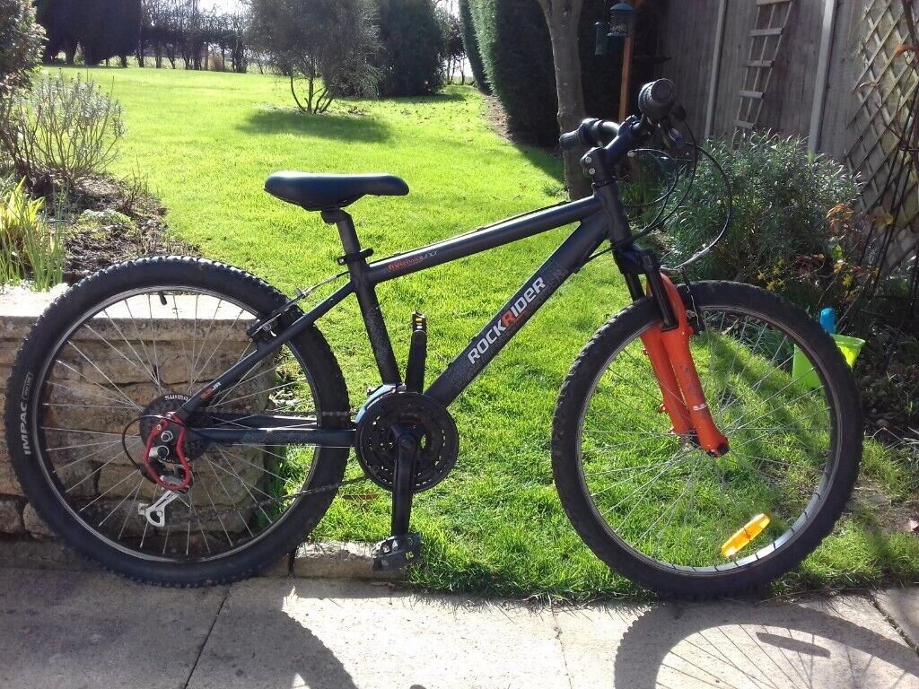 66a5c9fc9 B TWIN ROCKRIDER 5.2 Junior KIDS MOUNTAIN BIKE