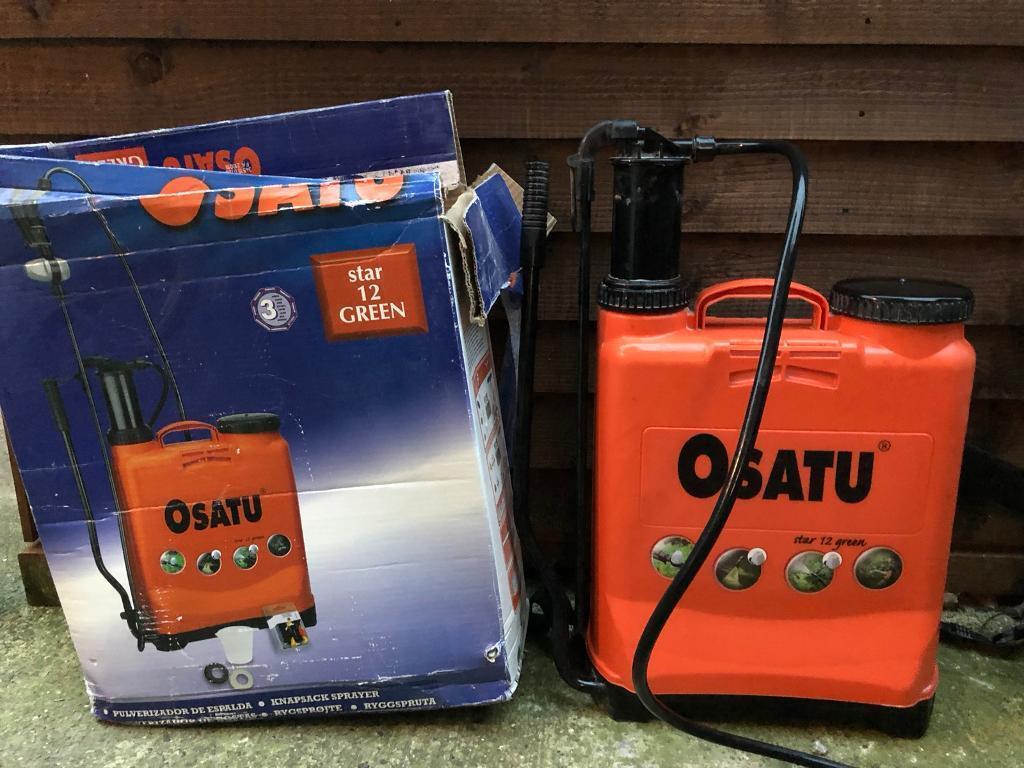 Osatu backpack, Star 12 green