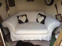 Laura Ashley snuggler love Sofa vintage
