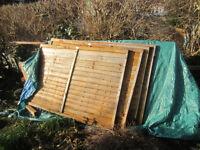 4 Unused Fence Panels - 120cm