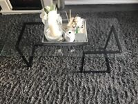 Glass coffee table 6 months old