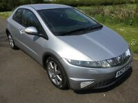2007 Honda Civic SPORT 2.2I-CTDI 6 speed Mot'd March 2018 5dr 6mth warranty