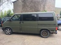 VW T4 Caravelle 2.4D for spares or repair