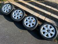 VW Audi Skoda Seat Alloy wheels & tyres 5x112