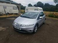 Honda civic CDTI Diesel 5DR 2006 long mot full service history excellent condition
