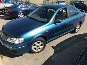 2001 NISSAN PULSAR MANUAL SEDAN WITH LOW KM'S $2999 Beckenham Gosnells Area Preview