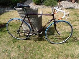 reynold 531 road bike 58cm frame vintage coventry eagle