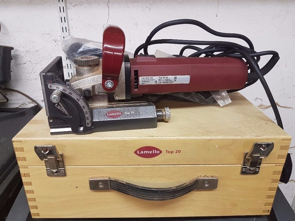 Lamello Buiscuit Jointer Swiss Made Top Of The Range Top
