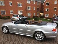 BMW 3 Series Convertible 2.0 Petrol 12 Months MOT