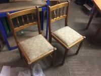 Pair Of Ducal Dining Chairs