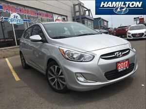 2017 Hyundai Accent   SE   ALLOYS   ROOF   HEATED SEATS   LOW KM