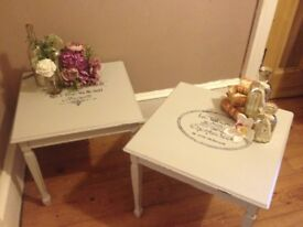 Hand Painted Side/Occasional Tables