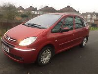 2005 CITROEN XSARA PICASSO 2.0 HDi DESIRE LOW 93K FSH LOVELY CON ANY TRIALFULL MOT 1 OWNER PX SWAPS