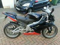 Aprillia rs125 rs 125 2008 excellent example new mot rg dt ktm yzf wr mito