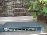 cisco catalyst 2950 24 Port switch.