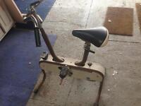 Vintage Caloi exercise bike