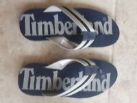 New..Mens Timberland Wild Dune Navy Blue Flip Flops size UK 9.5 / US 10 /EU 44